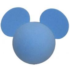 Disney Mickey Mouse Plain Blue Antenna Topper / Desktop Bobble Buddy