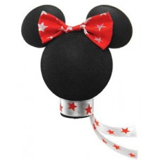 Minnie Mouse White Stars Bow - Boxed