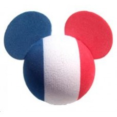 Mickey Mouse FRANCE French Car Antenna Topper - Epcot World Showcase - Disney Country Flag