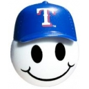 *Last one* Texas Rangers Antenna Ball (CAP) - MLB