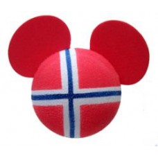 Mickey Mouse Norway (NORWEGIAN) Antenna Topper - Disney Country Flag