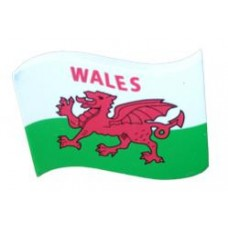 *Rare* Wales Waving Welsh Country Flag Antenna Ball / Antenna Topper