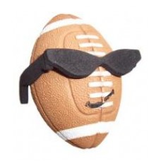 Coolballs Football w/ Shades Antenna Topper / Desktop Bobble Buddy Spring Stand