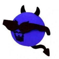 *Last One* Cool Lil Devil Antenna Ball (Blue) Antenna Topper
