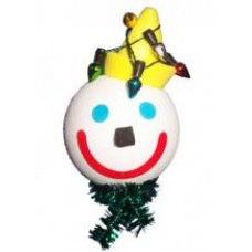 2007 Jack Christmas Lights Antenna Topper - Jack in the Box Antenna Ball