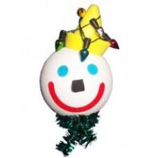 2007 Jack in the Box Christmas Lights Antenna Ball / Desktop Bobble Buddy