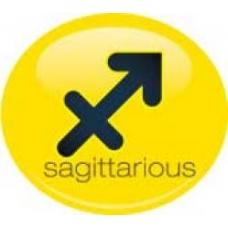 *Sale* Sagittarious Birth Sign Antenna Ball