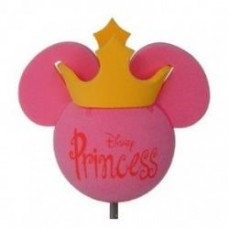 *Last One* Disney Pink Princess w Gold Crown Antenna Topper / Desktop Spring Stand Bobble