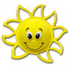 Tenna Tops Happy Florida Sunny Sunshine Antenna Topper / Desktop Bobble Buddy