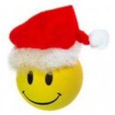 Happy Santa Car Antenna Ball