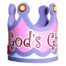 Gods Girl Crown Antenna Topper