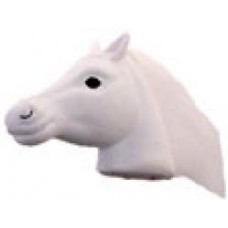 Coolballs White Horse Antenna Topper / Desktop Bobble Buddy