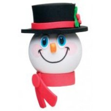 Tenna Tops Frosty Snowman Antenna Topper