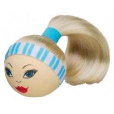Blonde Hottie Pony Tail Antenna Ball Antenna Topper