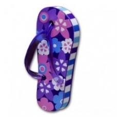 Purple Flip Flop Sandal Car Antenna Topper