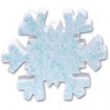 Tenna Tops Snowflake (Blue Sparkles) Antenna Topper