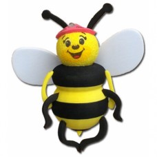 For Thick Fat Style Antenna - Tenna Tops Bee Car Antenna Topper