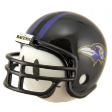 Baltimore Ravens Helmet Head Antenna Ball / Desktop Bobble Buddy (NFL)