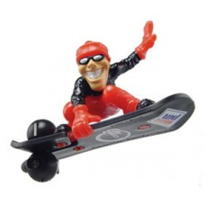 Code Red Snowboarder Air Shredder Antenna Topper