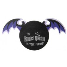 Disney Haunted Mansion Flying Bat Antenna Topper / Desktop Spring Stand
