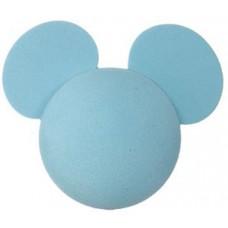 Disney Plain Baby Blue Mickey Mouse Antenna Topper / Desktop Bobble Buddy