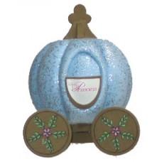 *Last One* Disney Cinderella Princess Pumpkin Carriage Antenna Topper