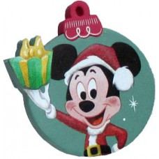 *Last One* Disney Mickey Santa Hat Ornament Antenna Ball Topper