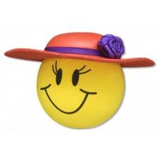 Tenna Tops Red Hat Lady Antenna Topper / Desktop Bobble Buddy