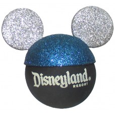Disney Mickey Mouse Blue and Silver Sparkles Antenna Topper (Disneyland Resort)