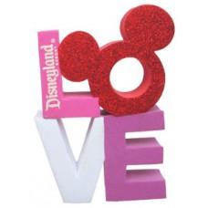 *Last one* DisneyLand LOVE Antenna Topper / Desktop Bobble Buddy