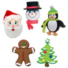 Tenna Tops 5pc Christmas Gift Set Antenna Toppers