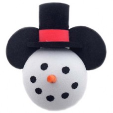 Mickey Mouse Frosty the Snowman Antenna Topper / Desktop Bobble Buddy