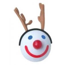 2004 Jack in the Box Reindeer Antenna Ball / Desktop Bobble Buddy