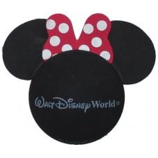 Disney Minnie Mouse Small Red Bow - White Polka Dots Antenna Topper (Walt Disney World)