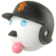 Jack San Francisco Giants Head Antenna Topper / Desktop Bobble Buddy (MLB)