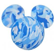 Disney Mickey Mouse Blue Tie Dye Swirls Marble Antenna Topper / Desktop Bobble Buddy
