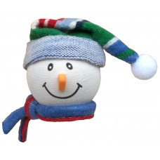 Tenna Tops Snowman Antenna Topper (Blue) Winter Hat & Scarf