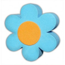 Blue / Orange Daisy Antenna Topper