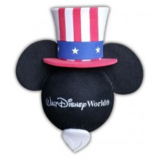 DIsney Mickey Mouse Patriotic Hat 4th Of July Antenna Topper (Beard) - Walt Disney World