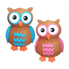 Tenna Tops Cute Owl Antenna Topper & Mirror Danglers Set of 2