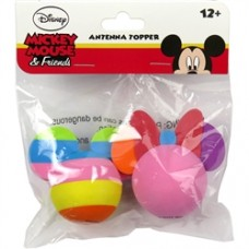 2 Pack - Neon Mickey and Icon Mickey Antenna Toppers