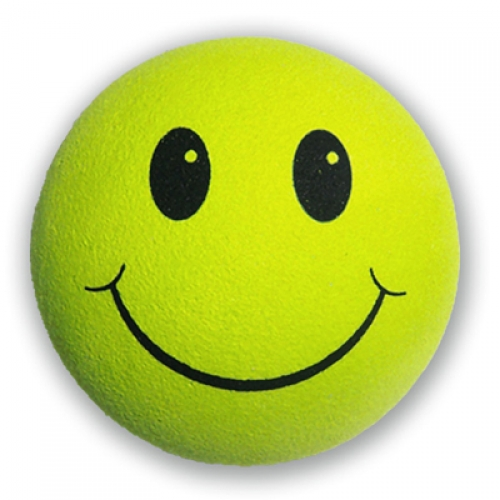 lime green smiley face antenna ball tenna tops