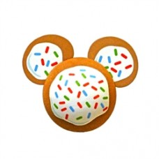 Disney Mickey Mouse Gingerbread Cookie Antenna Topper