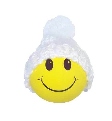 Winter Hat Yellow Smiley FaceWinter Smiley Face