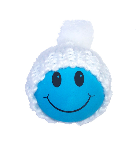 Winter Hat Blue Smiley FaceWinter Smiley Face
