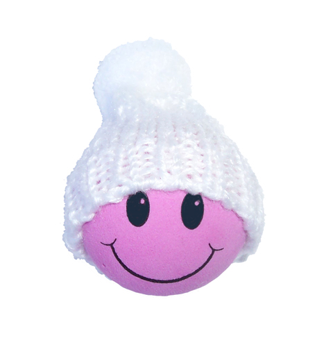 Winter Hat Pink Smiley FaceWinter Smiley Face
