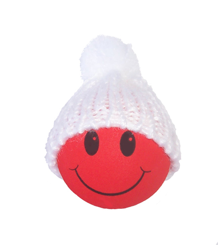 Winter Hat Red Smiley FaceWinter Smiley Face